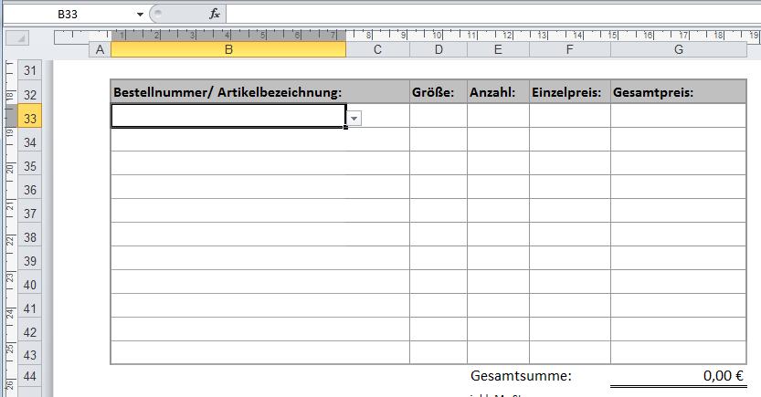 Excel Arbeitsblatt Ende Festlegen : Dynamische formular und dropdown felder in excel stefan
