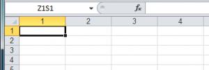 Excelproblem: Zahlen statt Buchstaben bei der Spaltenbeschriftung